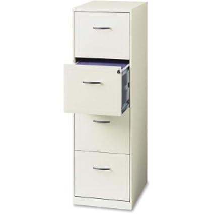 Captivating Hirsh 4 Drawer Steel File Cabinet, Baked Enamel