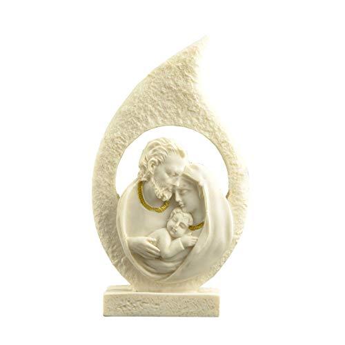 chinejaper Kerststalornament, Christus geboorte van Jezus Ornament geschenken kerststal scène hars handwerk decoratie…