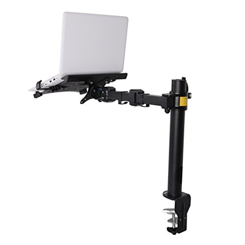 Fleximounts 2 In 1 D1l Desk Laptop Stand Mounts Fits Up To