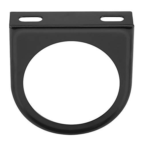 (Gauge Bracket Holder, 52mm 2 Inch Universal Single Hole Meter Gauge Pillar Mount Pod Holder Black)