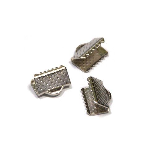 Silver 10mm Loop Clasps - 1