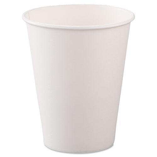 SLO378W2050 - Single-Sided Poly Paper Hot Cups