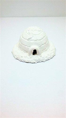Winter fairy garden, Christmas village miniature igloo. - Snow Igloo