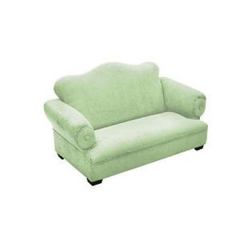Newco Kids Little Queen Micro Sofa, Green by Newco