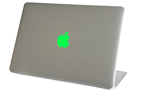 NEON Fluorescent Green Macbook Air Logo Color Changer Vinyl Sticker Decal Mac Apple Laptop