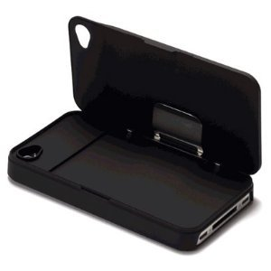 half off 26327 d6611 iLid MK-1 World's Thinnest iPhone 4 and 4s Wallet Case Cover- Black