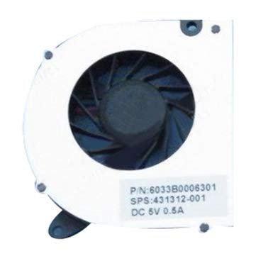 Computer Components CPU Cooling Fans - HP Compaq 6530S 6531S 6530B 6535S 6735s 6720 3 pin CPU Fan Heat Sinks - 1 x HP Compaq 6530S 6531S 6530B 6535S 6735s 6720 3 pin Fan