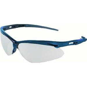 Safety Glasses, Light Blue, Scrtch-Rsstnt