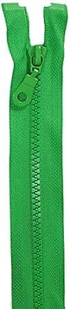 01 65 cm lang Rei/ßverschluss Kunststoff f/ür Jacken//Farbe weiss Jajasio 2 Rei/ßverschl/üsse mit Z/ähnchen teilbar