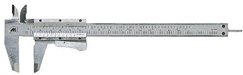 Metrica Inox 0-155 Calibre, Gris, 1/128'' 1/128'' 10039