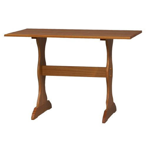 Linon Chelsea Kitchen Nook Table - Linon Pine Table