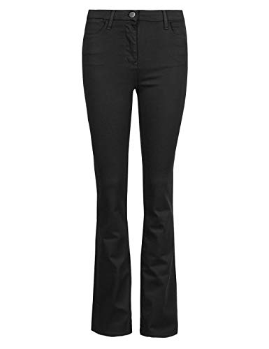 Ex High Street Brand Women's Boot Cut Jeans – Ankle Length Denims with Added Stretch & Slim Bootleg | Women's Clothing