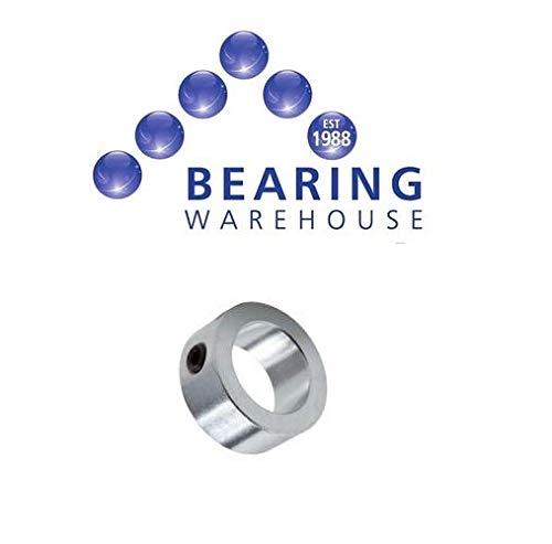 4mm Shaft Collar Double Split Steel Metric Clamp Collars Zinc Plated 4mm to 80mm