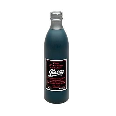 Glassy Balsamic Vinegar of Modena Glaze, Squeeze Bottle, 500 mL