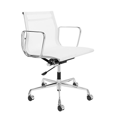 SOHO Premier Eames Replica Management Chair (Mesh, White) (Replica Mesh)