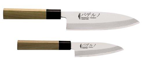 Paderno World Cuisine Deba Japanese Sushi Knife, 6-1/2-Inch by Paderno World Cuisine