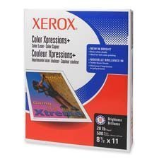 Xerox : Copy/Printer Paper,100 GE/114 ISO,60Lb, 8-1/2x11,250/RM,WE -:- Sold as 2 Packs of - 250 - / - Total of 500 Each by Xerox