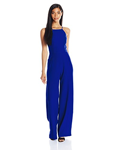 Black Halo Women's Joaquin Jumpsuit, Cobalt, 4 by Black Halo