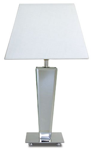 Tapered mirror base table lamp amazon lighting tapered mirror base table lamp aloadofball