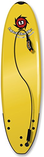 Liquid Shredder 7'5 Element Soft Surfboard-Yellow, Yellow by Liquid Shredder