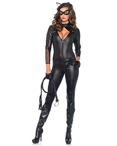 Sansberia Women's Halloween Catwoman Cosplay Costume