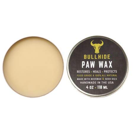 Bullhide - Paw Wax - 100% Natural Paw Wax for Cats & Dogs - Protect, Heal, Repair Paws & Nose - Made in USA - 4 oz.
