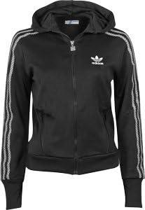 Adidas Adi TT Hooded Flock W sweat zippé à capuche 38 black