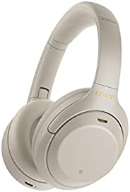 Sony WH-1000XM4 Wireless Industry Leading Noise Canceling Overhead Headphones with Mic for Phone-Call and Alex