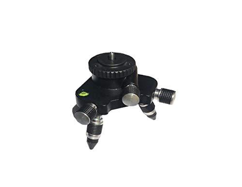 Mountlaser 360-Degree Rotating Base Laser Level Adapter, for Line Laser Level Tripod Connector, with Standard 5/8