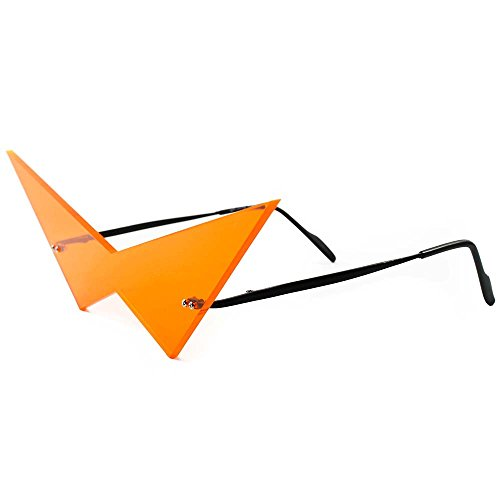 Anime Inspired Futuristic Comic Costume Cosplay Pointy Triangle Sunglasses - Shades Pointy