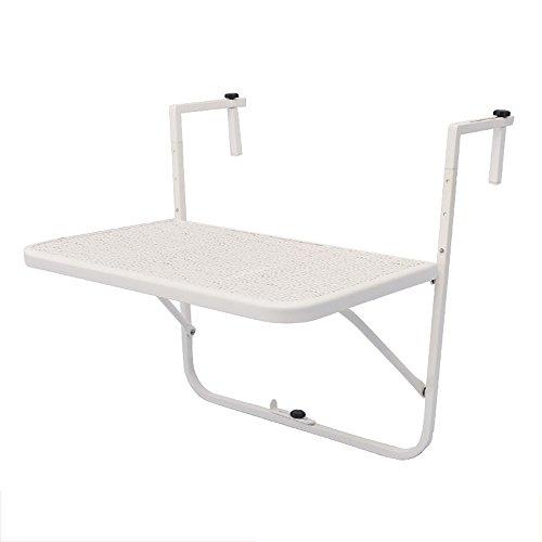 Folding table LVZAIXI Mesa de Comedor de balcón Mesa de Comedor de ...
