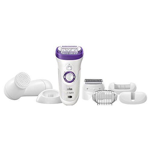 Braun Silk-épil 9 9-579 Women's Epilator, Electric Hair Removal, Wet & Dry, with Electric Razor - Bonus Edition (Packaging May Vary)