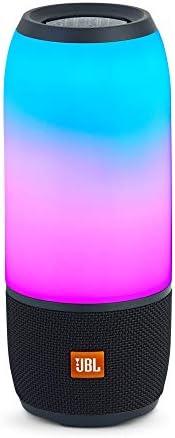 JBL Pulse 3 Caixa de Som Portátil Bluetooth à prova d'água Preta com LED