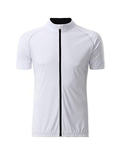 2store24 para con en de total negro jersey cremallera Jersey hombre blanco ciclismo nWOpXIq