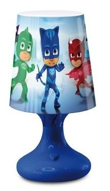 PJ Masks Kids Gekko Owlette and Catboy Mini LED Bedroom Night Light Blue New 2017-