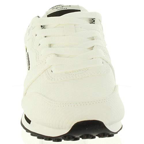 Femme Pepe White Pls30745 Bimba Chaussures Pour De Sport 800 Jeans r66qBwX