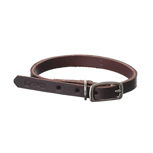 Circle T Latigo Leather Town Collar - 12 Long x 3/8 Wide (42 Pack) by Circle T Leather (Image #1)