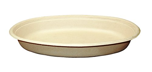 World Centric BO-SC-UBB 100% Compostable Unbleached Plant Fiber Burrito Bowl, 32 oz. (Pack of 300) by World Centric