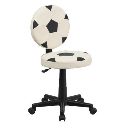 soccer mid back kid desk