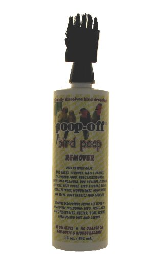 bird poop remover brush