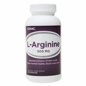 GNC L-arginine 500 Mg 90 Capsules