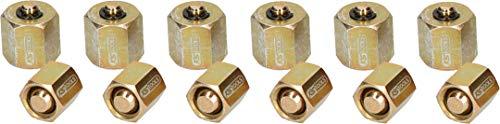 SK Hand Tool KS Tools 150.1835 Locknut Set for Injection/Diesel Engines, 12 pcs.