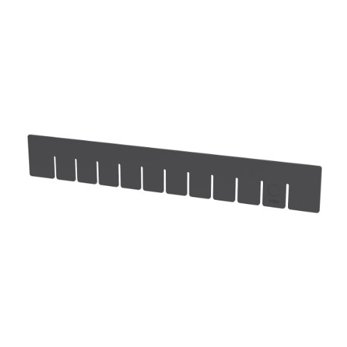 Akro-Mils 41223 PK Short Divider for 33223 Akro-Grid Slotted Divider Plastic Tote Box, Pack of 6 by Akro-Mils