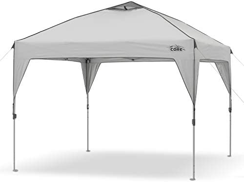CORE 10' x 10' Instant Shelter Pop-Up Canopy Tent with Wheeled Carry Bag 1