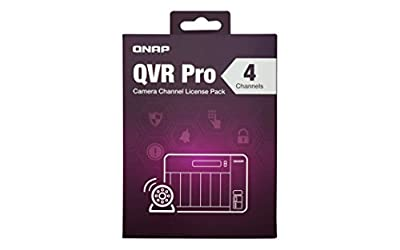 Qnap LIC-SW-QVRPRO-4CH 4 Channel license (QVR Pro Gold is required)