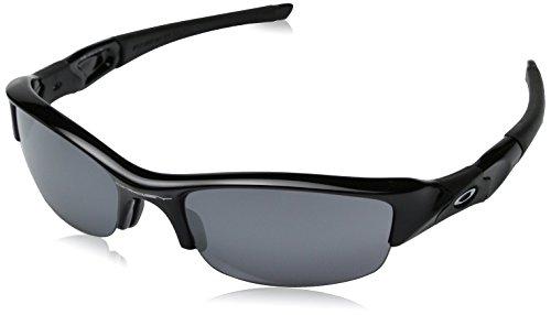 Oakley Flak Jacket Sunglasses Jet Black / Black Iridium & Carekit - Black Flak Jet Oakley Jacket