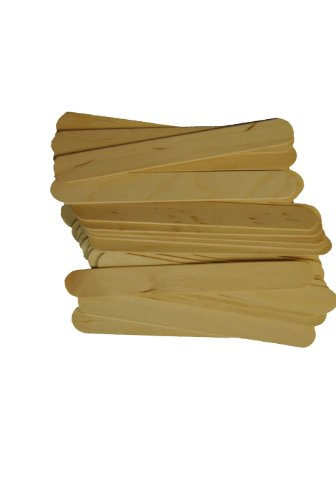 Perfect Stix Craft WTD-1000 Jumbo Craft Sticks, 0.1″ Height, 0.6″ Width, 6″ Length (Pack of 1000)