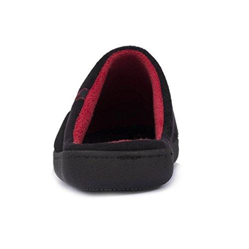 Herren-Pantoffeln mit grafischem Detail Isotoner 43