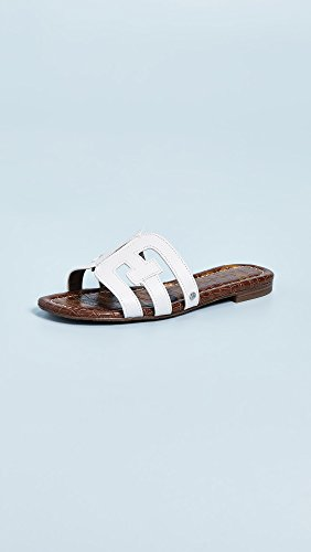 Bay Slide Women's Sandal White Sam Edelman UqvEFF