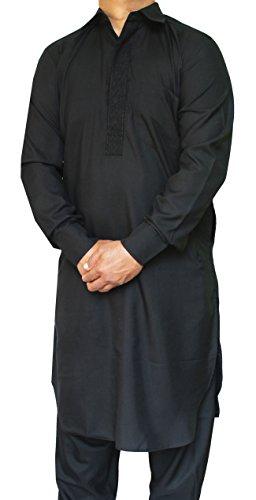 Maple-Clothing-Pathani-Kurta-Salwar-Set-Partito-Indiano-Uomo-Abbigliamento